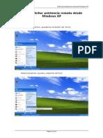 Asistencia Remota Windows Xp