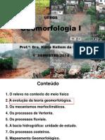 Aula 2 e 3 -Geomorfologia I