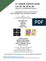 u Id Code Camp Flyer 2015
