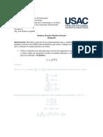 Solucion Primera Prueba Objetiva Parcial 2015