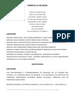 Libreto 21 de Mayo 2015