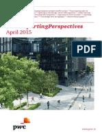 Pwc Reporting Perspective April 2015