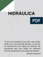 Introdução Hidráulica