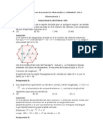 Solucionario Del 16to Concurso Nacional de Matemática CONAMAT 2013