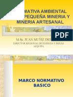 Normativa Ambiental Mineria Artesanal