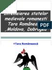 Întemeierea Statelor Medievale Românești