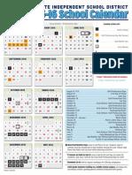 mesquite calendar