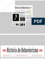 Historia do Behaviorismo
