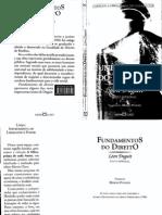 Léon Duguit - Fundamentos Do Direito
