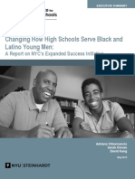 Changing How High Schools Serve Black and Latino Young Men
