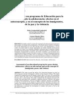 RIE Programa Paz 2011