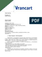 VRANCART SA Microfinantare