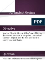 5-step analysis ancient gesture