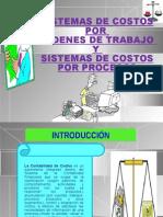 Sistemas de Costos Por Ordenes de Trabajo