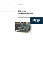 ACR2000 Hardware Manual ACR2000 Hardware Manual