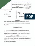 Philpot v. Gray Television Copyright Complaint
