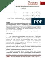 Artigo 3 - SÚMULA N. 11 DO STF a História Das Algemas e Sua Utilização Hodierna