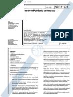 NBR 11578 - Cimento portland composto - Especificação.