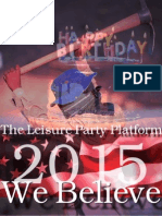 leisure party platform1