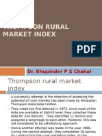 Thompson Rural Market Index MAIN