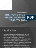 The Home Video Game Industry