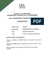 CEM005 Past Exam Papers