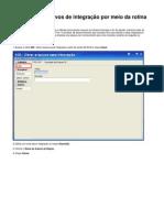 Como Criar Arquivos de Integração Por Meio Da Rotina 509