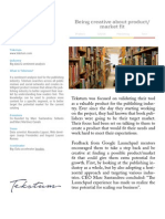 Tekstum — Google Launchpad Barcelona Case Study