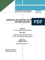 Centro de equipo y esterilizacion