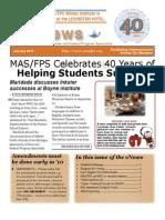 January 2010 MAS/FPS eNews