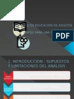 Enfoques en Educaciòn de Adultos