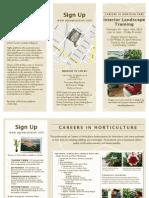 Careers in Horticulture - Interior Landscape Training Course