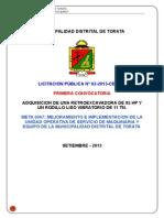 Bases Estándar de Licitación Pública Para La Contratación de Bienes