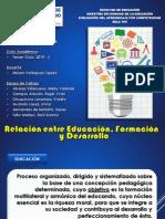 Educación, Formación, Desarrollo y Proceso Docente Educativo