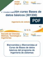 PresentacionCurso_bases de Datos