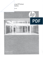 Planning and Designing HP ProLiant Solutions for the Enterprise Course 00110885 Book 1 of 2