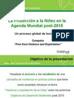 La Protección de la Niñez en la Agenda Mundial post2015