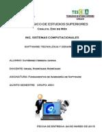 Ensayo Ing Software