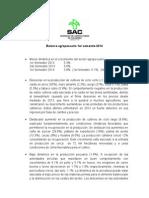 Balance Agropecuario 2014colombia