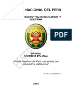 Manual Del Curso de Doctrina Policial