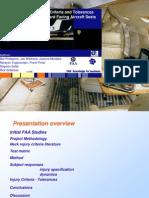 Neck Injury Criteria for Occupants of Sideward Facing Aircraft Seats
