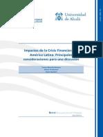 Impactos de La Crisis Financiera en Latinoamerica