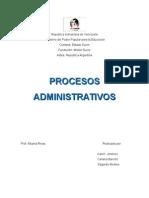 Trabajo de Procesos Administrativo