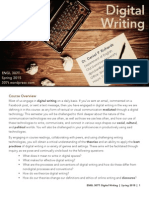 ENGL 307T Digital Writing
