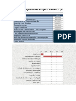 Cronograma de Projeto Rede LT 138 KV