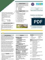 Leflet Pelatihan Statistik PSIKM Unud 2015