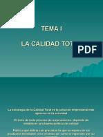 GCT 2011 IGESTION DE LA CALIDAD TOTAL