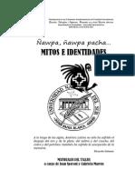 Speroni, Juan & Marrón, Gabriela (2012) Ñawpa, ñawpa pacha. Mitos e identidades