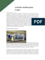 Cómo Seleccionar Aceites Para Turbinas de Gas