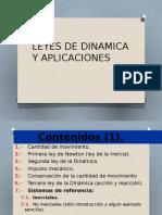 Leyes de Dinamica y Aplicaciones